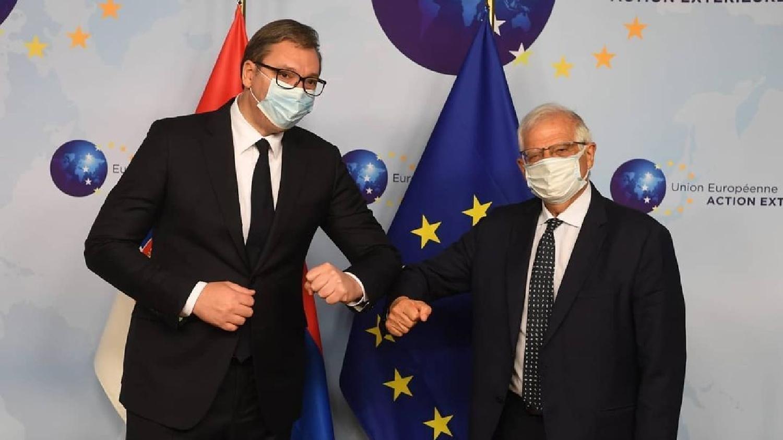 Borelj i Lajčak sutra i odvojeno i zajedno s Vučićem i Kurtijem 1