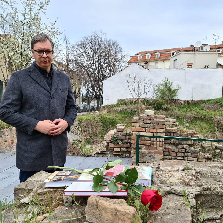Obeležavanje osam decenija od bombardovanja Beograda 6. aprila 1941. godine 2