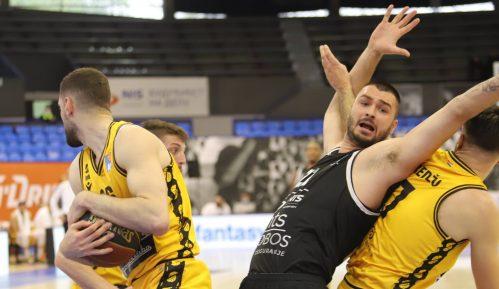 Košarkaši Partizana pobedili Split i poslali ga u baraž za opstanak u ABA ligi 1