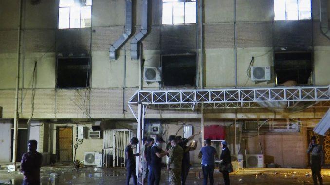 Irački ministar zdravlja podneo ostavku posle požara u bolnici 3