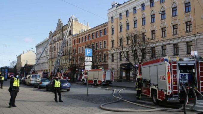 Požar u hostelu u centru Rige, osmoro mrtvih 4