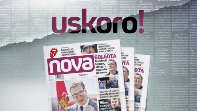"""Zašto niko neće da štampa novine """"Nova""""? 2"""