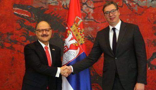 Vučić primio četiri akreditivna pisma ambasadora Meksika, Turske, Holandije i Bugarske 3