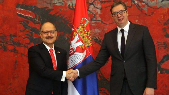 Vučić primio četiri akreditivna pisma ambasadora Meksika, Turske, Holandije i Bugarske 5