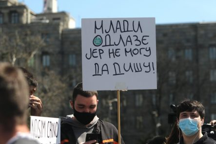 "Počeo protest ""Ekološki ustanak"" (FOTO/VIDEO) - Društvo - Dnevni list Danas"