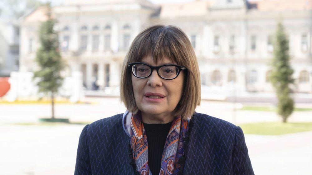 Ministarka kulture kaže da pisarnica njenog ministarstva radi na nivou 15. veka