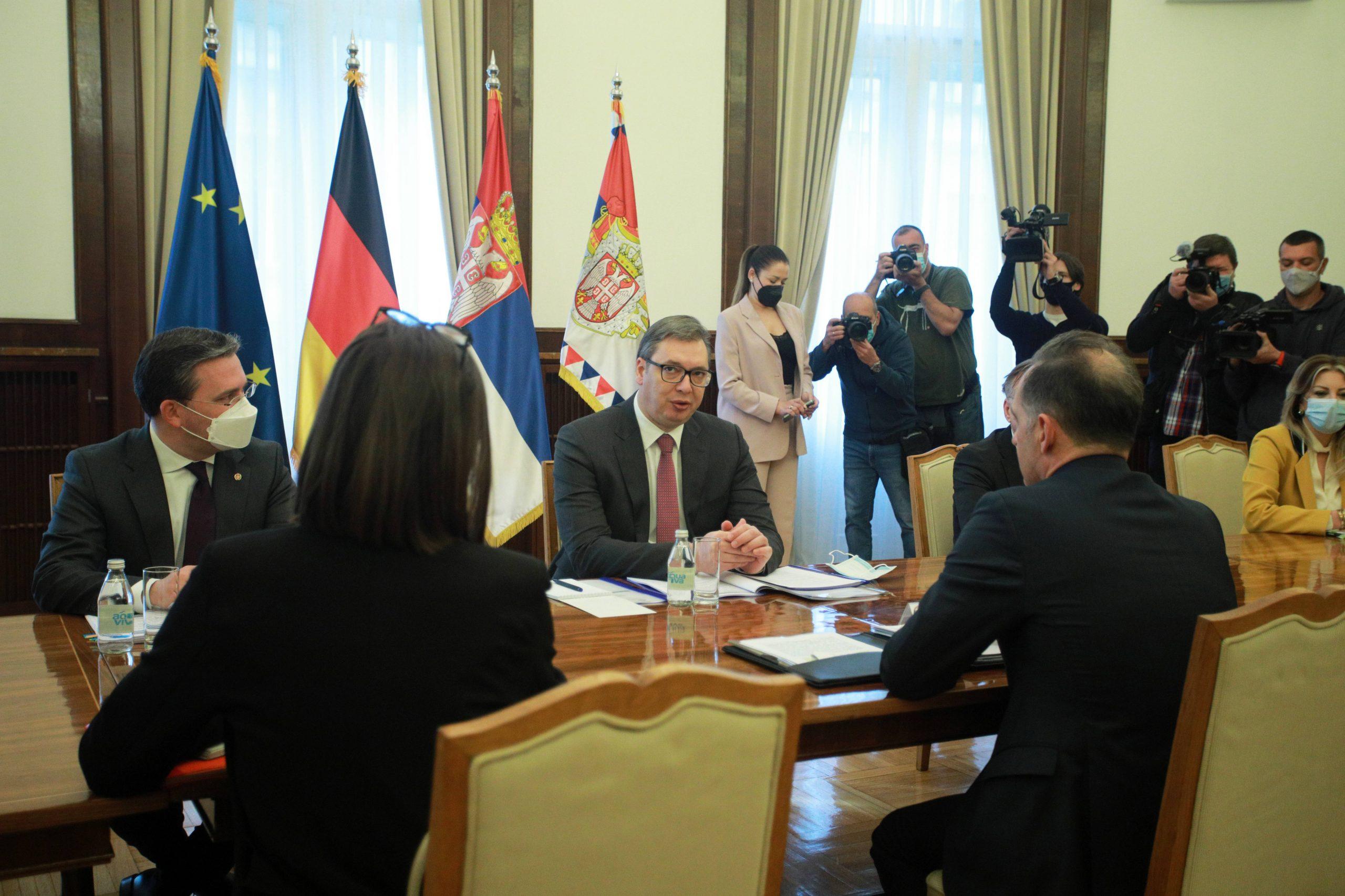 Vučić: Srbija spremna za nastavak dijaloga sa Prištinom, protiv smo 'zamrznutog koflikta' 1