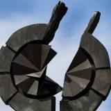 Položeni venci na Spomenik žrtvama genocida na Starom sajmištu 2