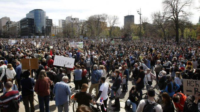 """BBC: Aktivisti u Srbiji započeli """"ekološki ustanak"""" 1"""