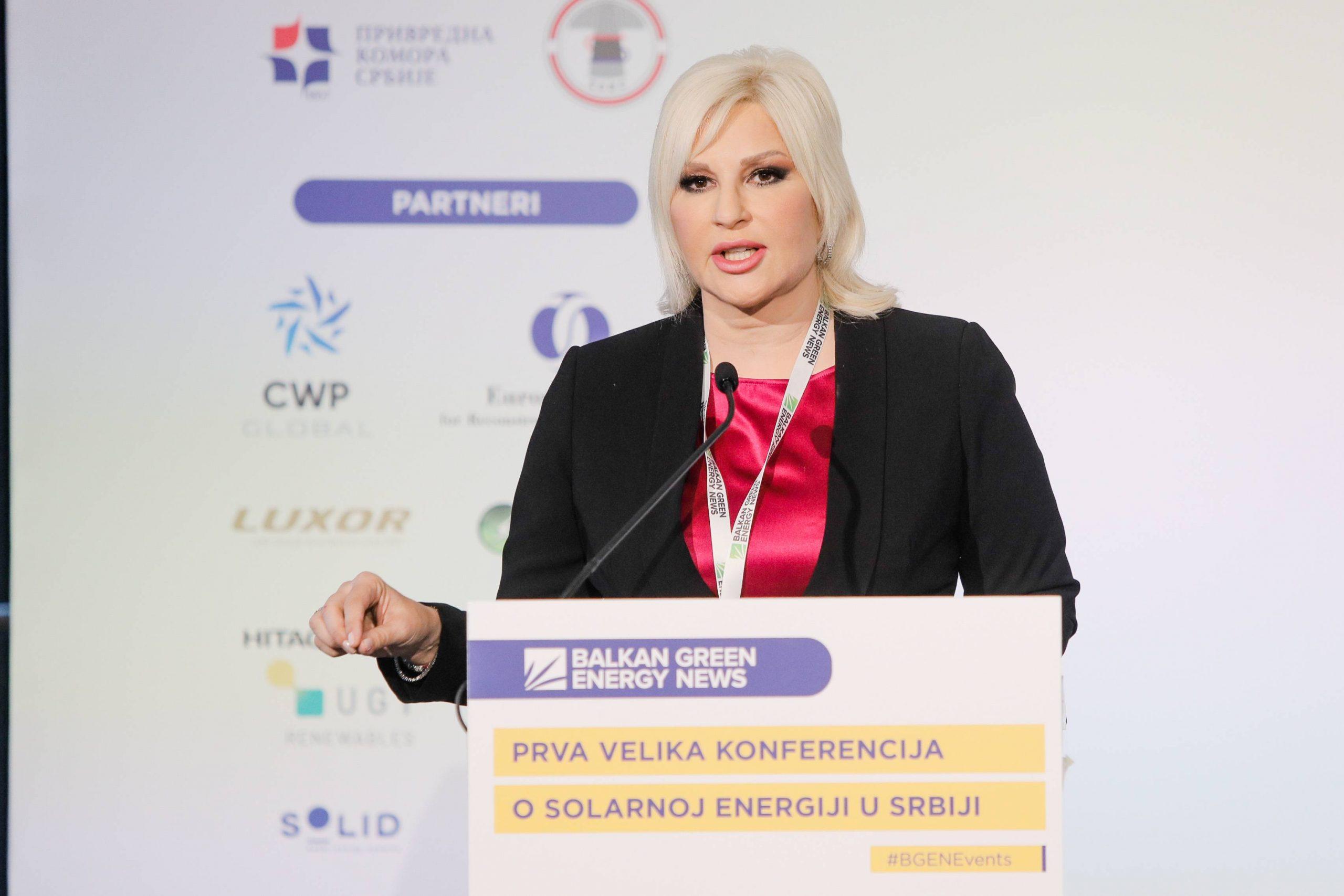 Mihajlović: Cilj Srbije je 40 odsto energije iz obnovljivih izvora do 2040. 1