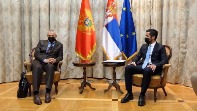 Momirović sa ministrom ekologije CG o obnovi pruge Beograd-Bar 5
