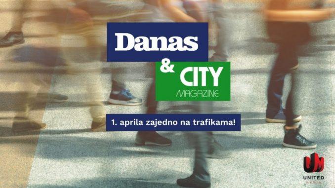 """Danas i City Magazine od ovog meseca zajedno """"u papiru"""" i na sajtu 1"""
