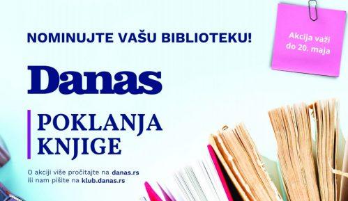 Danas poklanja knjige: Nominujte vašu biblioteku 2