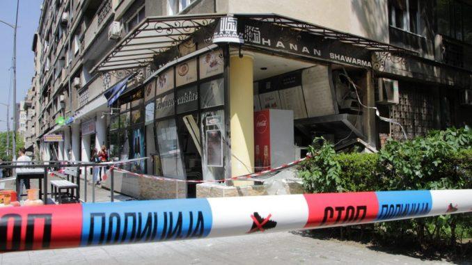 Eksplozija i požar u restoranu na Vračaru, povređena jedna osoba 3