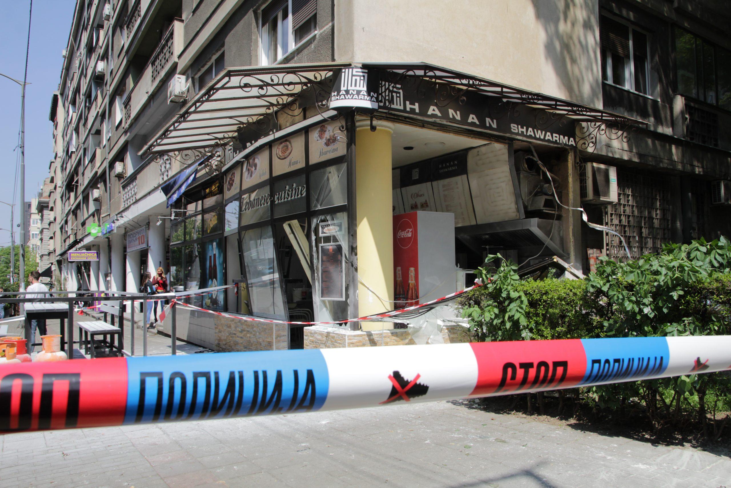 Eksplozija i požar u restoranu na Vračaru, povređena jedna osoba 1