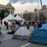 Protest frilensera ispred Skupštine trajaće do 10. aprila, Pogačar traži da se obrati poslanicima (VIDEO, FOTO) 17