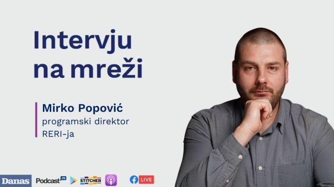 Mirko Popović (RERI): Najveći zagađivač je oligarhija (PODKAST, VIDEO) 1