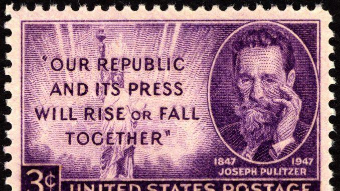 Zašto je Džozef Pulicer mislio da novine ne treba da imaju prijatelje? 1