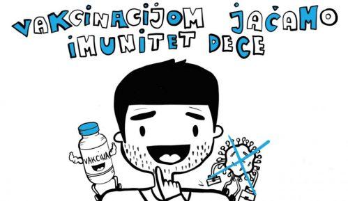 """Pokrenuta kampanja """"Vakcinacijom jačamo imunitet dece"""" za promociju redovne imunizacije 14"""