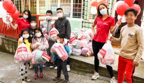 Meridian zasladio uskršnje praznike u Svratištu za decu ulice 4