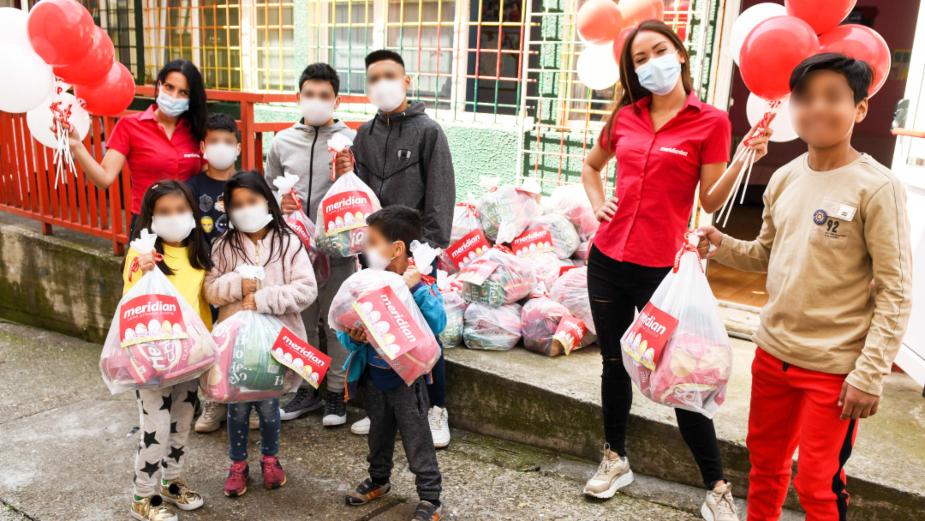Meridian zasladio uskršnje praznike u Svratištu za decu ulice 1