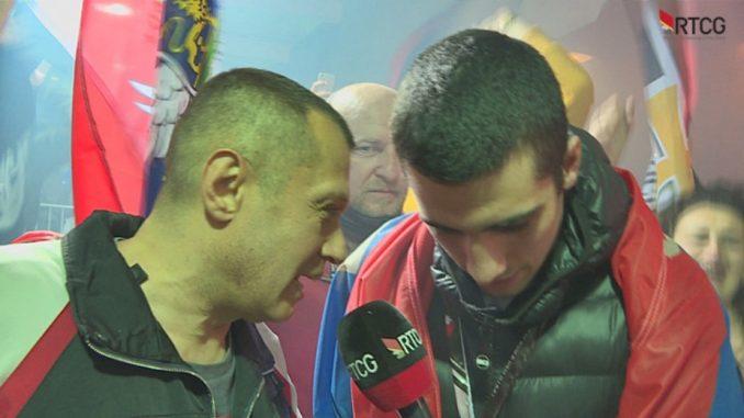 Na dočeku mladog reprezentativca u Podgorici vređan novinar RTCG, klicalo se Srbiji i Kosovu 1
