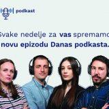 Podkast Danasa najslušaniji i u julu na Podcast.rs, treći mesec zaredom 56