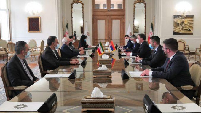 Selaković i Zarif razgovarali u Teheranu o saradnji Srbije i Irana 3