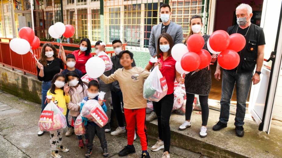 Meridian zasladio uskršnje praznike u Svratištu za decu ulice 3