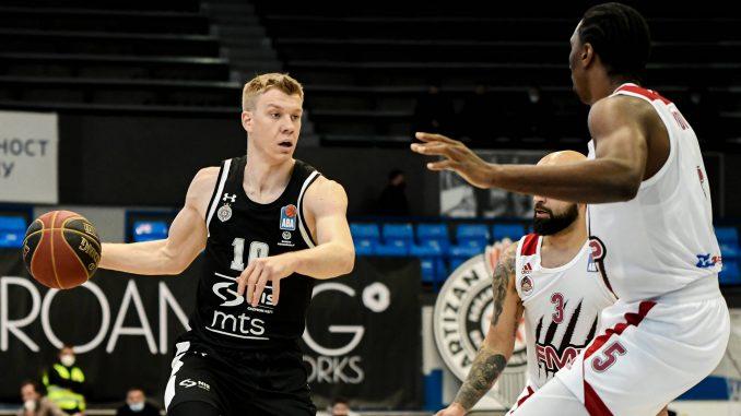 Partizan ubedljiv protiv FMP-a u ABA ligi 1