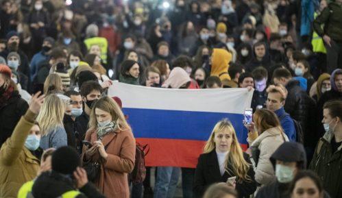 Ruska policija uhapsila 1.500 pristalica Navaljnog na protestima širom zemlje 7