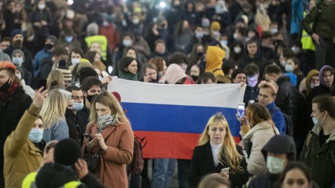 Ruska policija uhapsila 1.500 pristalica Navaljnog na protestima širom zemlje 1
