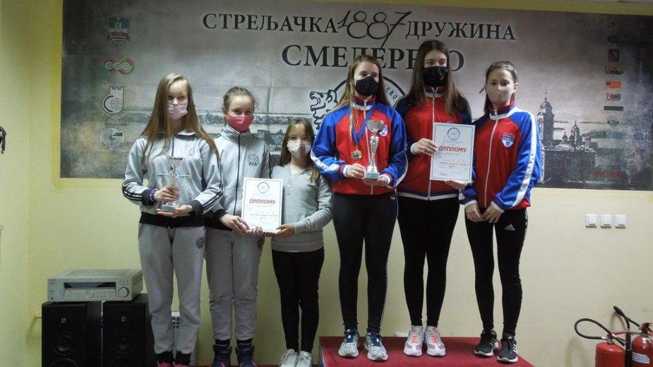 Milici Stanojević dve titule na Prvenstvu u streljaštvu 2