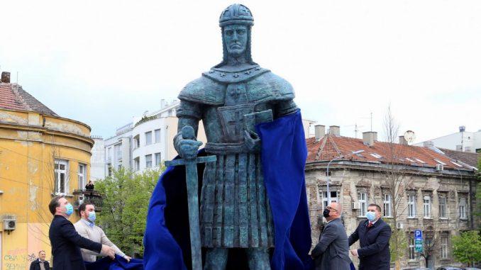 Svečano otkriven spomenik despotu Stefanu Lazareviću (FOTO) 3