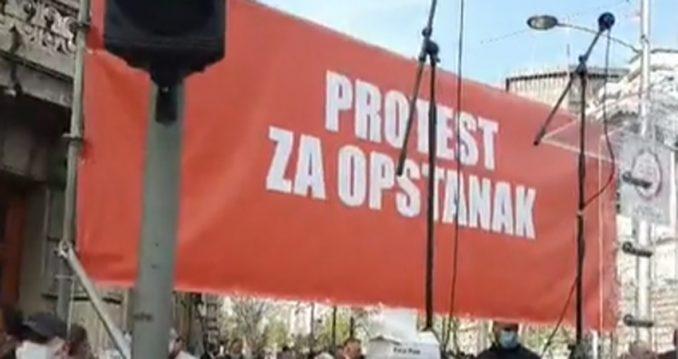 Završen protest ivent industrije, ugostitelja i muzičara, normalizovan saobraćaj 5