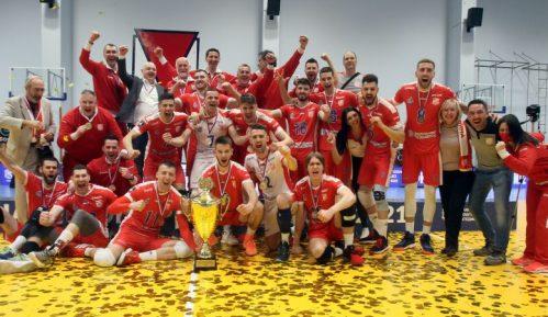 Odbojkaši Vojvodine odbranili titulu šampiona Srbije 28