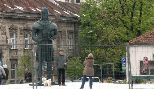 Postavljen spomenik despotu Stefanu u Beogradu 5