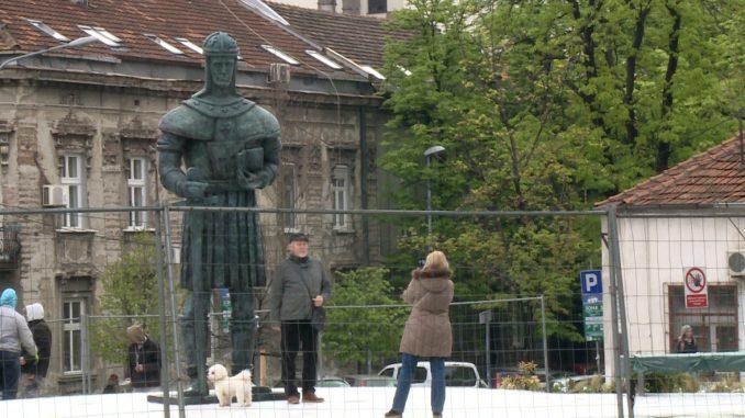 Postavljen spomenik despotu Stefanu u Beogradu 12
