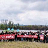 Održan novi protest 'Vidi, gari, možemo zajedno', protiv gradnje 'Novog Sada na vodi' (VIDEO, FOTO) 9