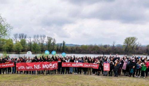 Održan novi protest 'Vidi, gari, možemo zajedno', protiv gradnje 'Novog Sada na vodi' (VIDEO, FOTO) 2