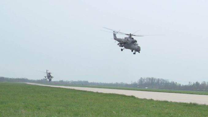 "Združeno taktička vežba ""Odgovor 2021"" održana na poligonima ""Orešac"" i ""Pasuljanske livade"" (FOTO) 3"