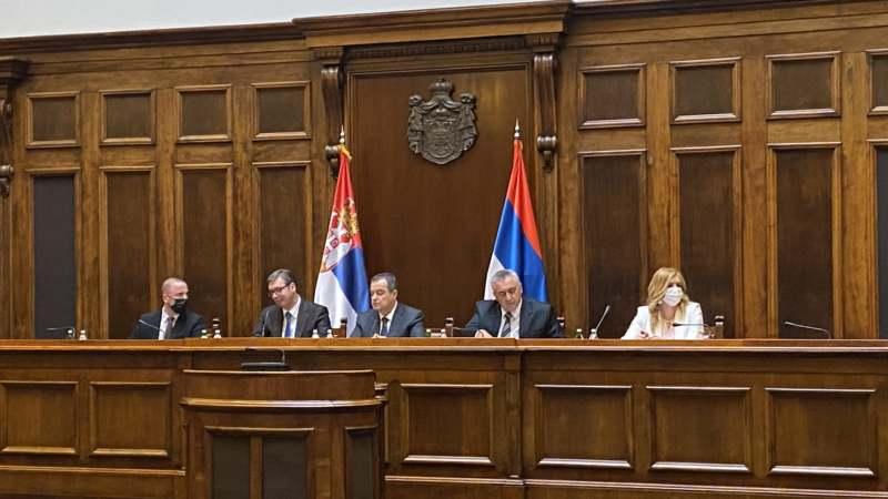 Vučić na prvom međustranačkom dijalogu o izbornim uslovima (FOTO) 3