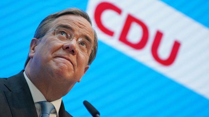 Lašet kandidat vladajuće CDU za kancelara 4