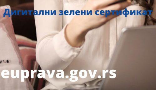 Digitalna potvrda o vakcinaciji i testovima od danas dostupna građanima na portalu eUprava 14