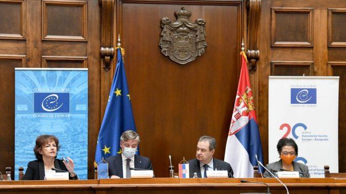 Kancelarija Saveta Evrope u Beogradu obeležila 20 godina postojanja 28