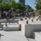 SSP 'oslobodila' beogradski Cvetni trg od betona, postavila saksije s cvećem 15