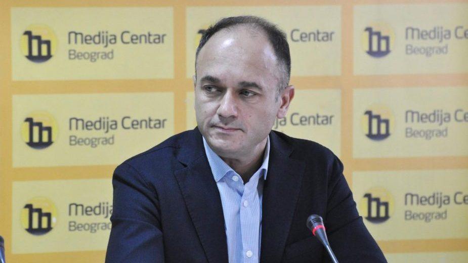 Vuletić: GDF će i dalje konstruktivno učestvovati u poboljšanju izbornih uslova 1