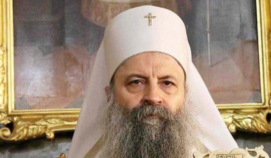 Patrijarh Porfirije stigao u Berane zbog ustoličenja episkopa budimljansko-nikšićkog Metodija 13
