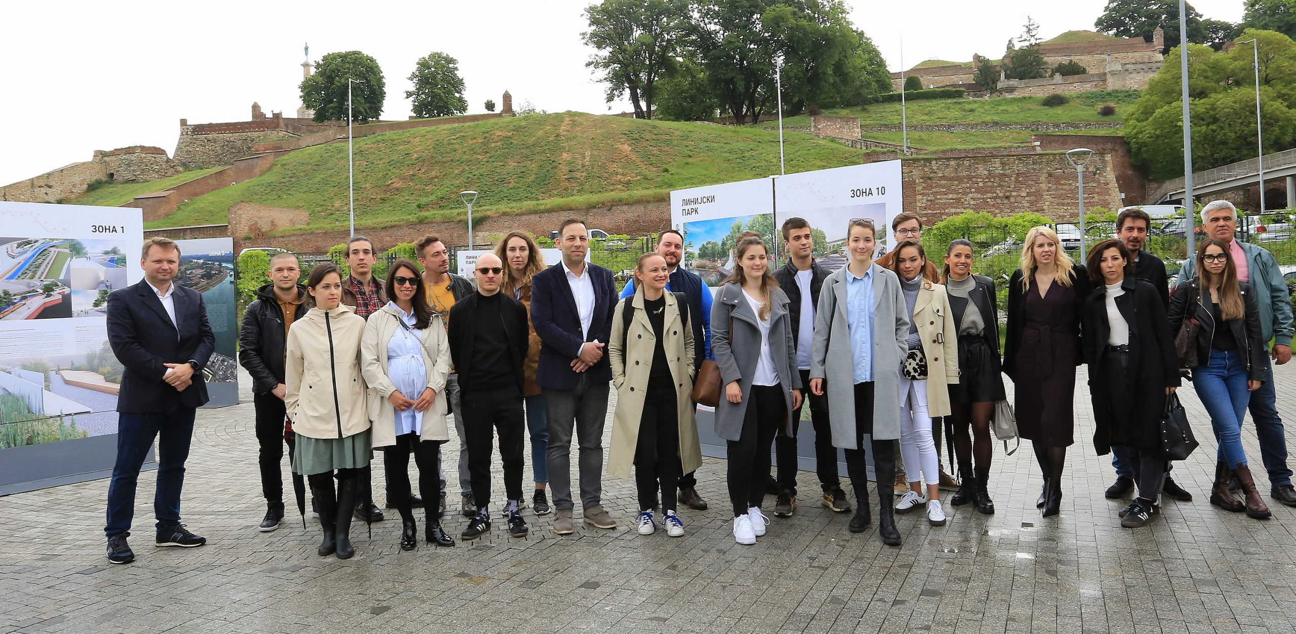 Predstavljeno idejno rešenje Linijskog parka u Beogradu (FOTO) 1