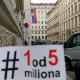 Pokret Jedan od pet miliona: Opozicija se ne sme oslanjati samo na posrednike iz EU 10